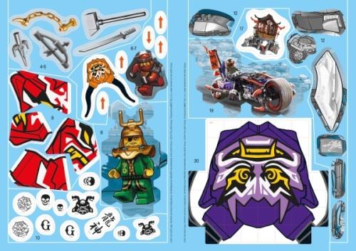 Lego Ninjago 1001 Sticker 80148 Jetzt Kaufen Online Vor Ort