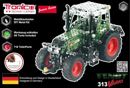 Bau- & Konstruktionsspielzeug-sets Spielzeug Rcee Tronico Junior Rc Fendt 313 Vario