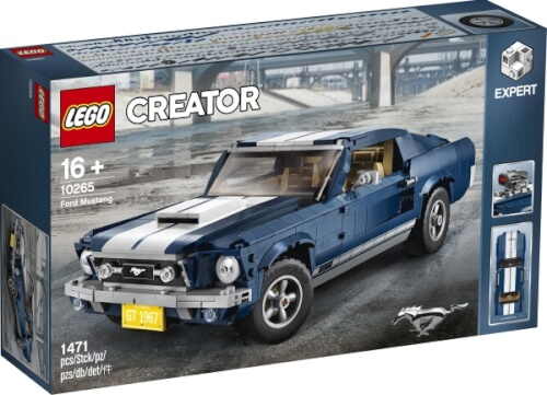 Lego Creator 10265 Creator Ford Mustang Seltenes Set 1471 Teile