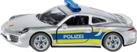 SIKU 1528 Porsche 911 Autobahnpolizei, ab 3 Jahre