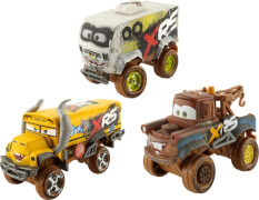 Mattel GBJ44 Cars XRS Schlammrennen Die-Cast Deluxe Sortiment