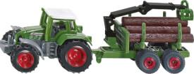 SIKU 1645 SUPER - Traktor mit Forstanhänger, ab 3 Jahre