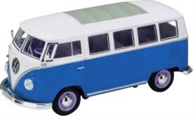 Welly VW T1 Bus blau 1:24
