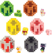 Mattel FMC85 Minecraft Spawn Egg Mini-Figuren sortiert