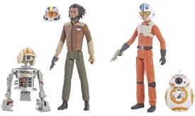 Hasbro E5034EU4 Star Wars Resistance Deluxe Figuren