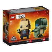 LEGO® BrickHeadz 41614 Jurassic World Owen und Blue, 234 Teile