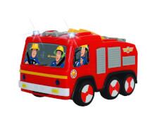 Dickie Feuerwehrmann Sam - Feuerwehrauto ''Jupiter'' inkl. Runterfall-Stopp-Funktion, Kunststoff, ca. 14 cm