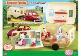 Sylvanian Families Wohnwagen passend für 2002 und 2003