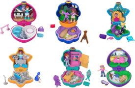 Mattel GCD62 Polly Pocket Tiny Pocket Places, sortiert