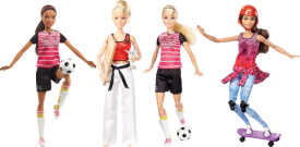 Mattel Barbie Made to Move Sportlerin Sortiert