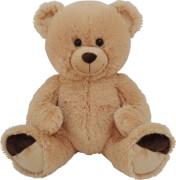 Plüsch-Teddy sitzend, ca. 50 cm