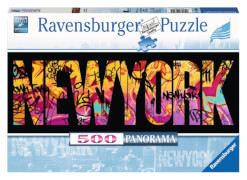 Ravensburger 146505  Puzzle New York Graffiti 500 Teile