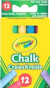 AMIGO 00281 Crayola Bunte Kreide 12 Stück