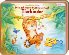 Arena Kiddilight Mein schönstes Puzzlebilderbuch - Tierkinder
