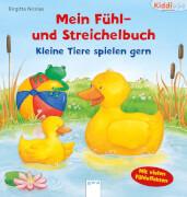 Arena Kiddilight Fühl- und Streichelbuch Kleine Tiere Spielen gern