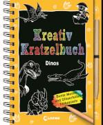 Loewe Kreativ-Kratzelbuch Dinos