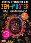 Kreative Kratzkunst XXL Zen-Muster