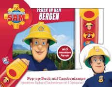 Buch & Sound Spiel-Set, Feurwehrmann Sam, Feuer in den Bergen