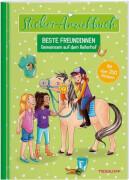 Tessloff Sticker-Anziehbuch. Beste Freundinnen. Gemeinsam auf dem Reiterhof. Mit über 200