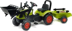 FALK Tret-Traktor Claas Lader + Hänger 2 - 5 Jahre