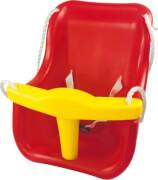 SpielMaus Outdoor Baby-Schaukel Kunststoff, hohe Lehne, ca. 38x38x39 cm, ab 12 Monaten