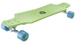 Hudora Longboard Fun Cruiser, grün