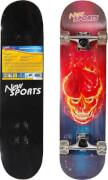 New Sports Skateboard Ghostrider, Länge 78,7 cm