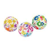 Strandball bunt, ca. 33 cm #