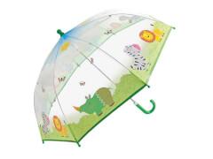Kinder-Schirm transparent Safari(4)