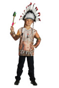 Kostüm Indianer Shirt Gr.116, Karneval
