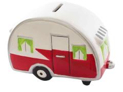 Keramikspardose Wohnwagen (2)